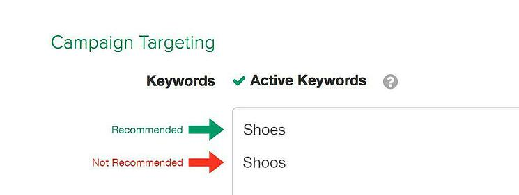 The proper use of keywords