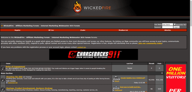 Wicked Forum Home Page