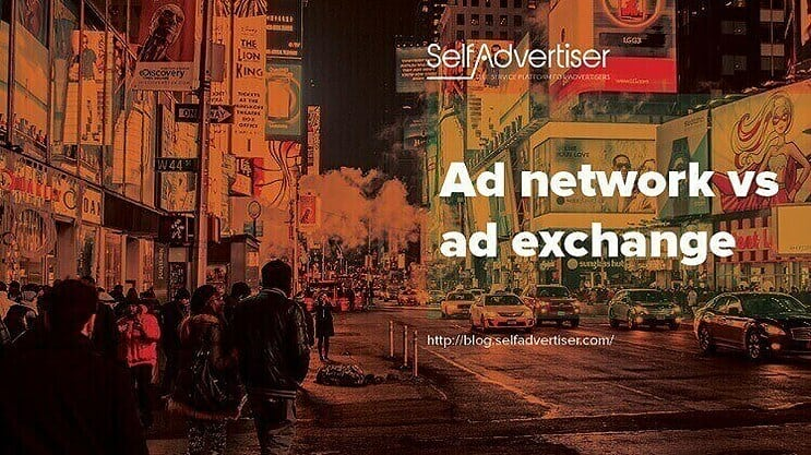 Ad Network vs Ad Exchange header
