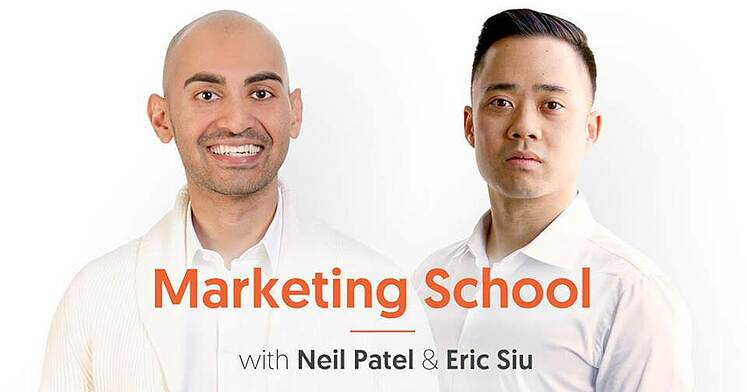 Mraketing school and eric siu