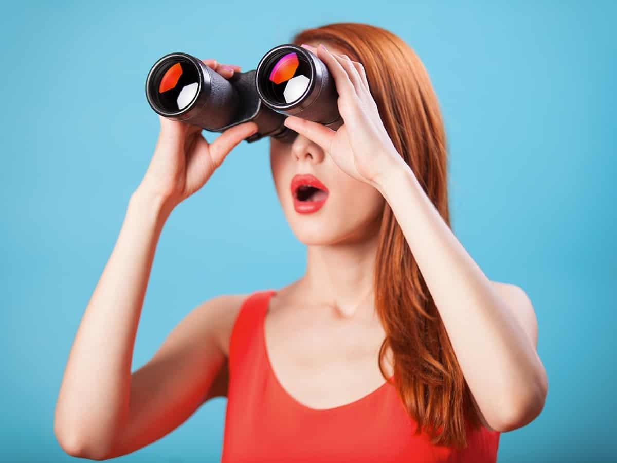 big Binocular