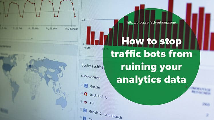 How to Stop Traffic Bots from Ruining Your Analytics Data header