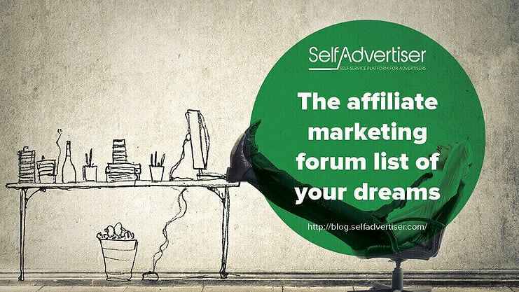 Affiliate Marketing Forum List header