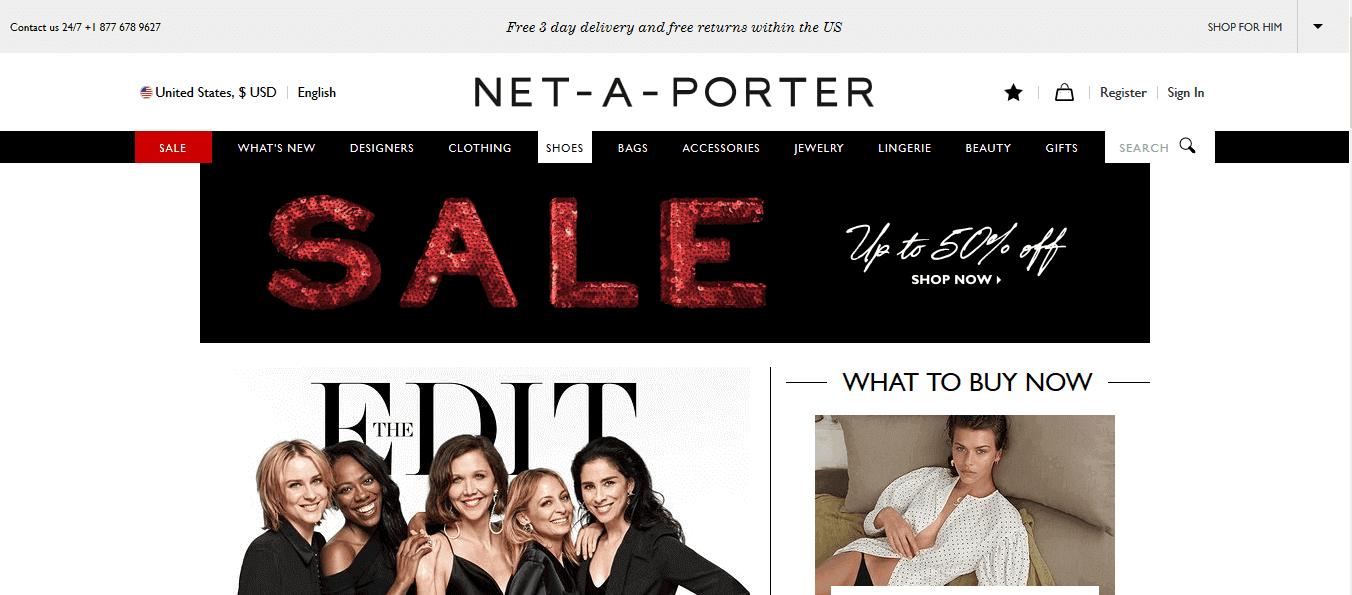 Net-A-Porter Affiliate Program