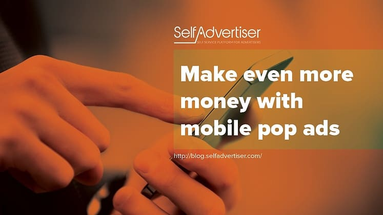 mobile pop ads
