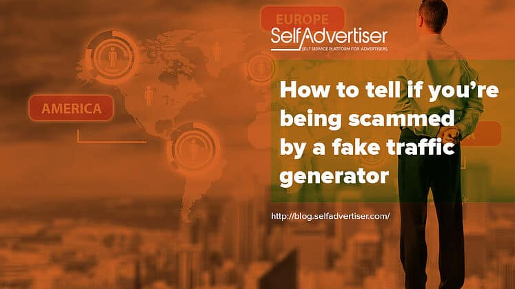How To Tell If You're Being Scammed By A Fake Traffic Generator header