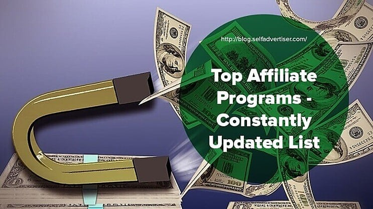 Top Affiliate Programs header